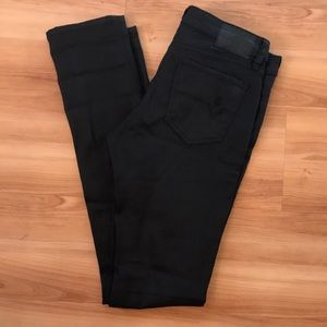 Volcom stick skinny fit black jeans NWOT